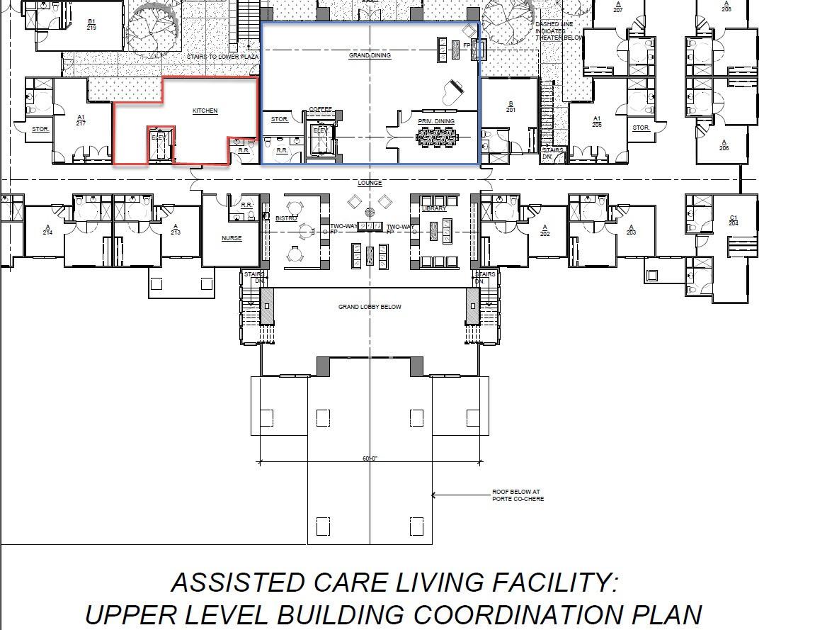 Jnm company for Senior housing building plans