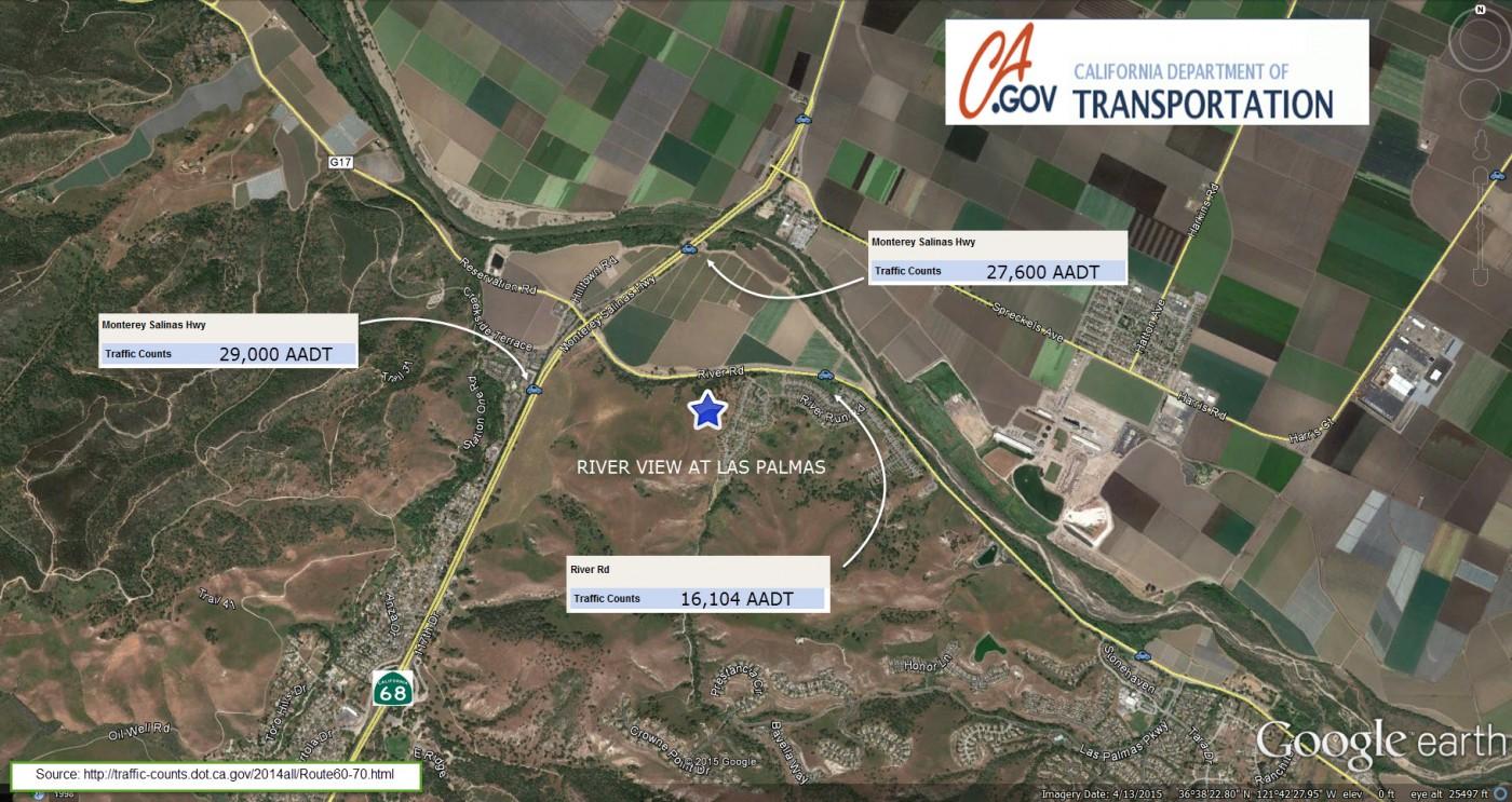 JNM Company - Caltrans traffic map
